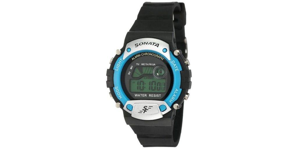 Sonata Digital Watch