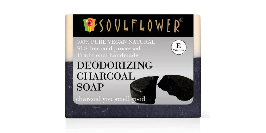 Soulflower Charcoal Handmade Soap
