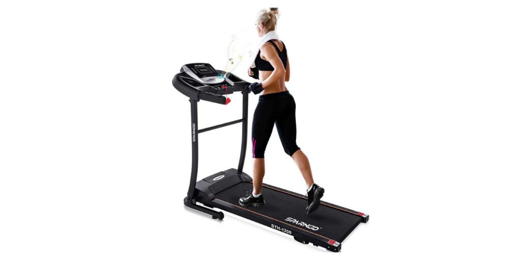 Sparnod Fitness Automatic Treadmill