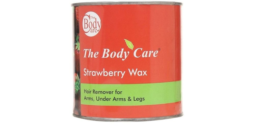 The Body Care Strawberry Hot Wax
