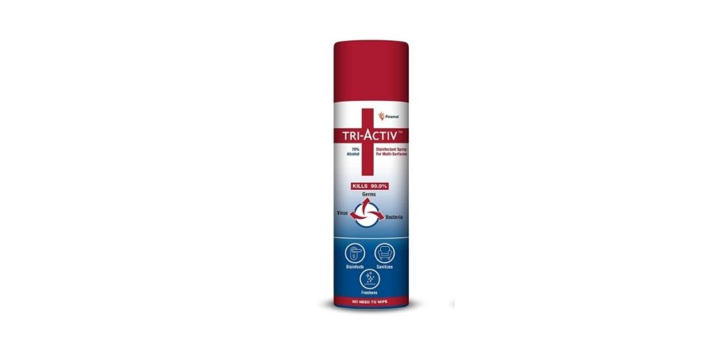 Tri-Activ Alcohol Based Disinfectant Spray