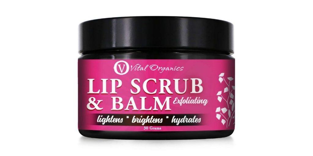 Vital Organics Lip Scrub