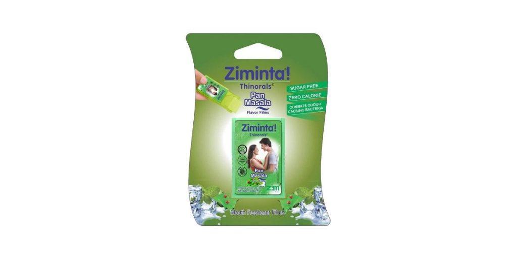 Ziminta Sugar-Free Mint Mouth Freshener
