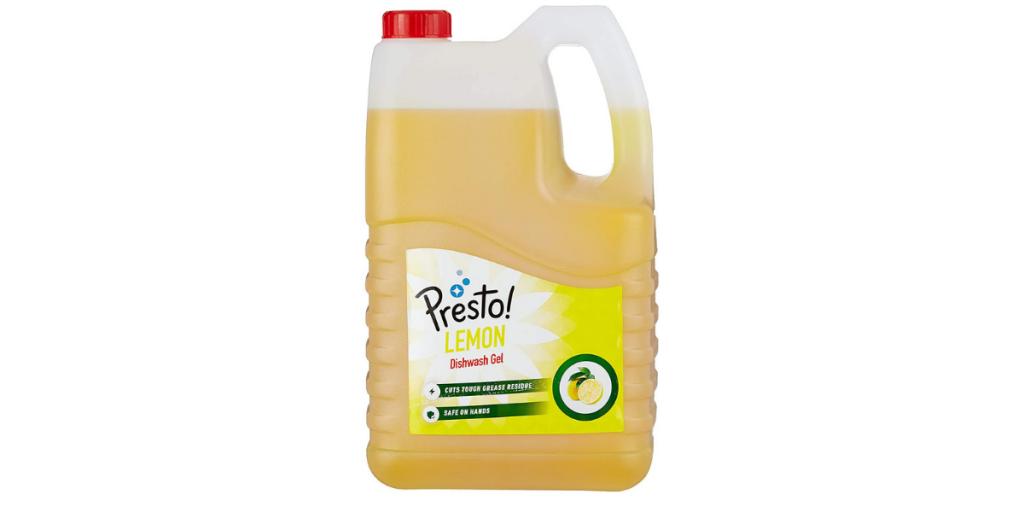 Amazon Brand Presto Dishwash Gel