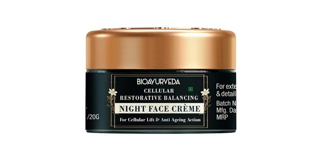 Bioayurveda Cellular Night Face Cream