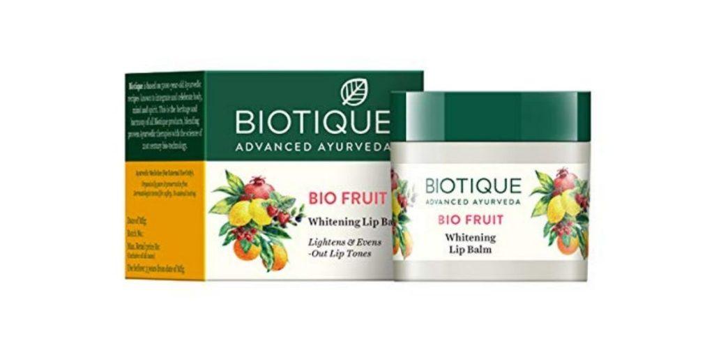 Biotique whitening lip balm
