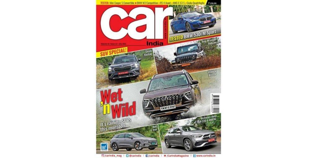 Car India Men's Magazine