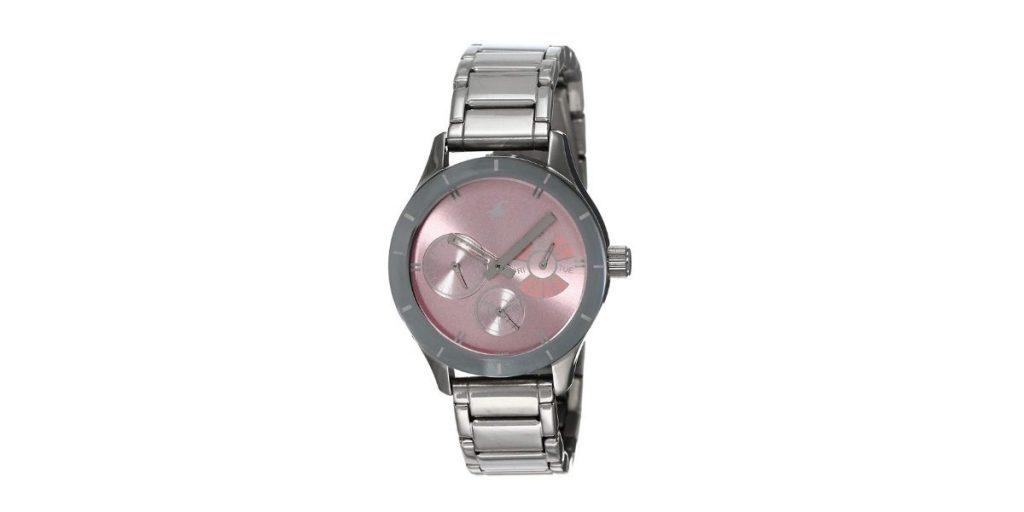 Fastrack 6078SM07 Monochrome Women's Watch
