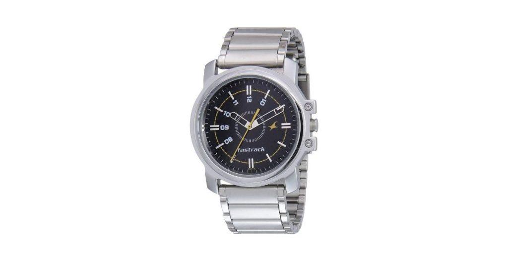 Fastrack NM3039SM02 Basics Men's Watch