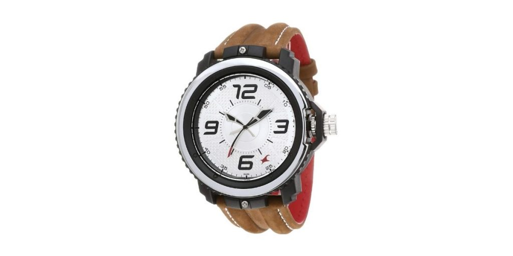 Fastrack NM38017PL02 Silver Dial Men's Watch