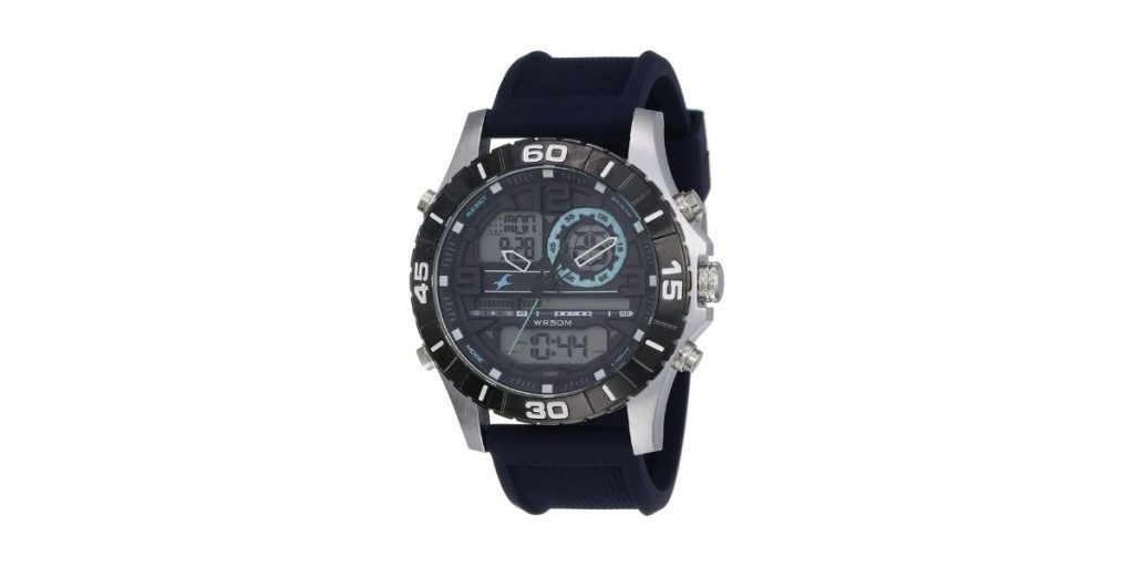 Fastrack NM38035SP02 Analog Blue Dial Men's Watch