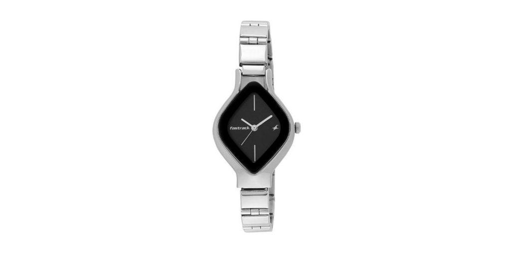 Fastrack NM6109SM02 Analog Black Dial Women's Watch