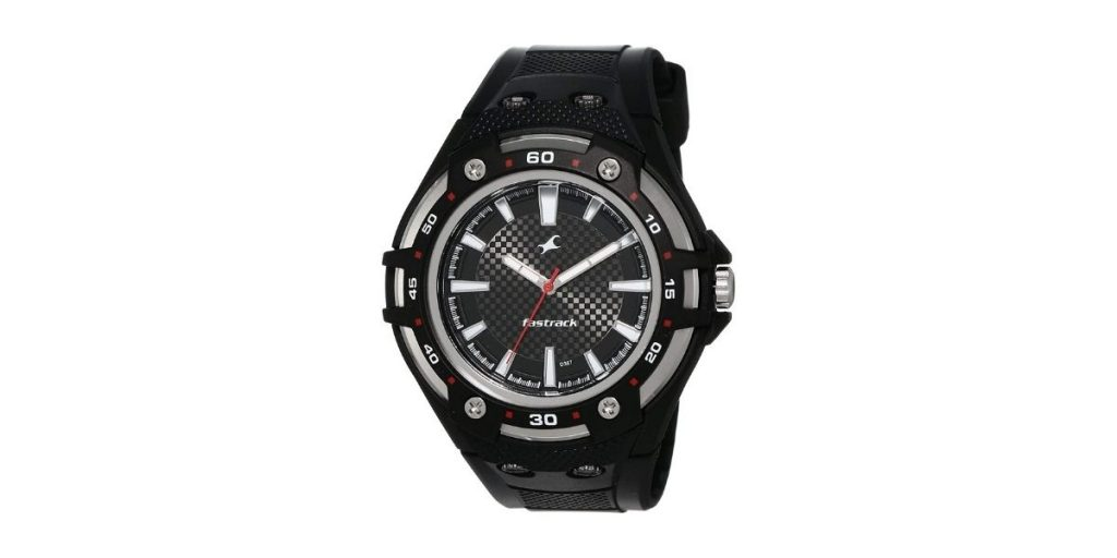 Fastrack New OTS NM9332PP02A Analog Black Dial Men's Watch
