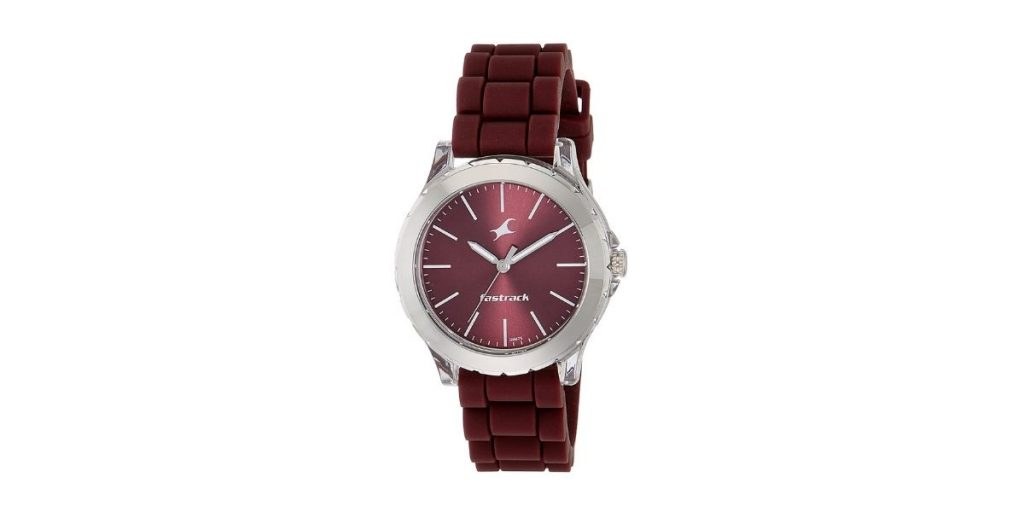 Fastrack Trendies NM68009PP06 Analog Red Dial Women's Watch