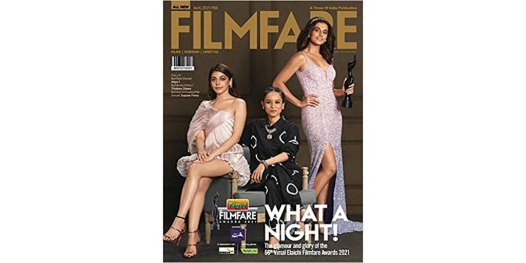 Filmfare women's magazine
