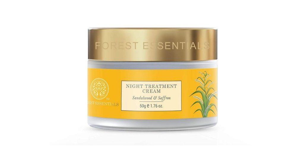 Forest Essentials Sandalwood and Saffron Night Cream
