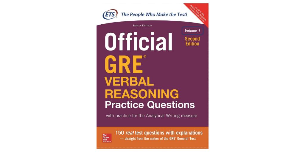 GRE Verbal Reasoning Book