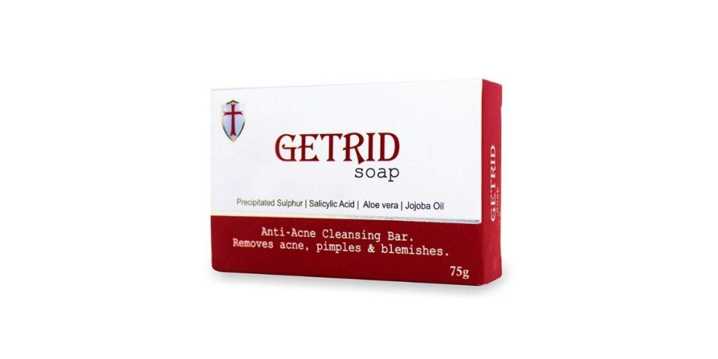Soap for blemishes
