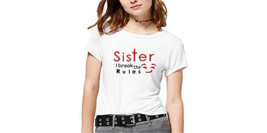 Printed tee for women