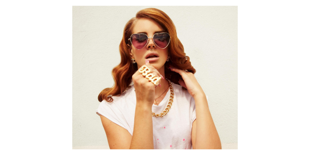 Heart Shaped Sunglass - Lana Del Ray
