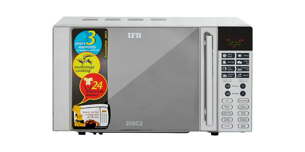 best IFB microwave ovens