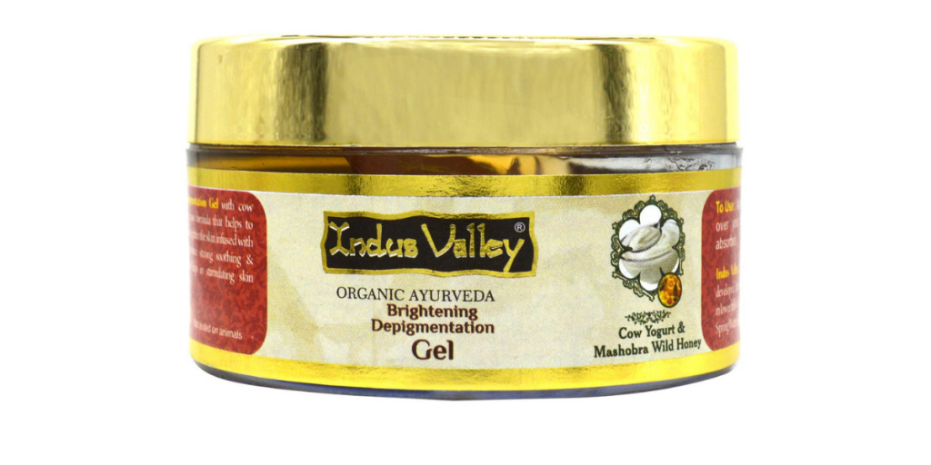 Indus Valley Cow Yogurt and Honey Skin Depigmentation Gel