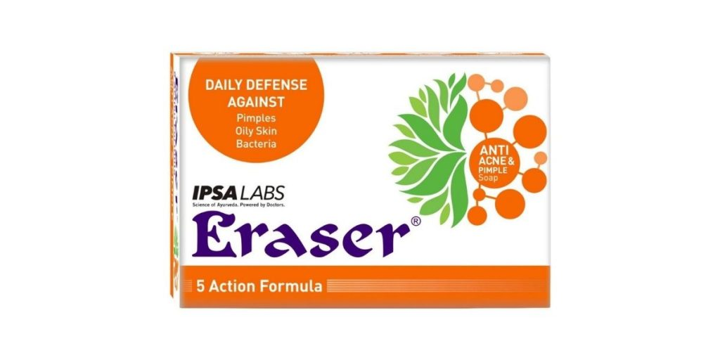 Anti acne and pimple soap