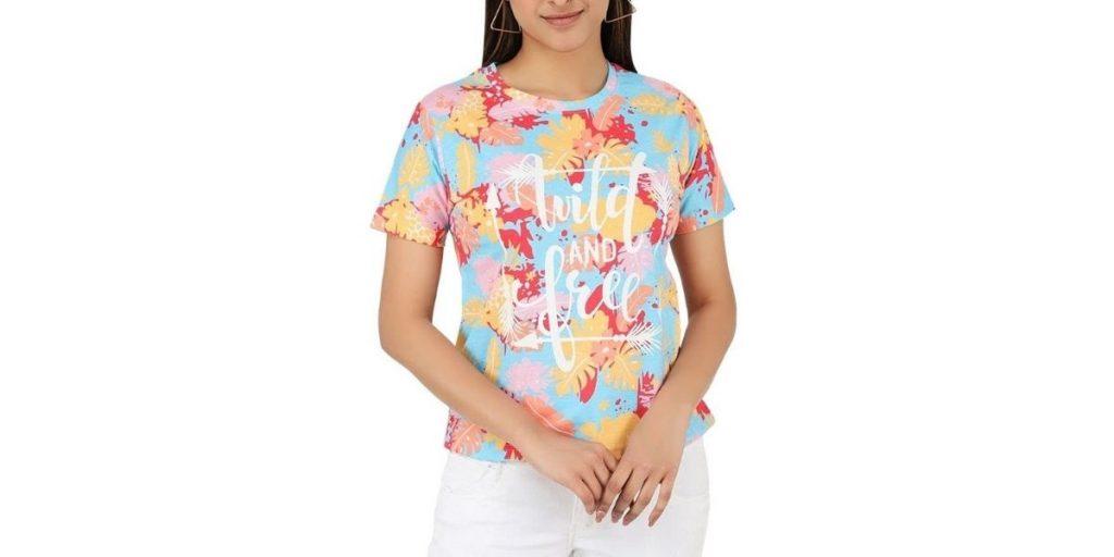 Printed tshirt for women