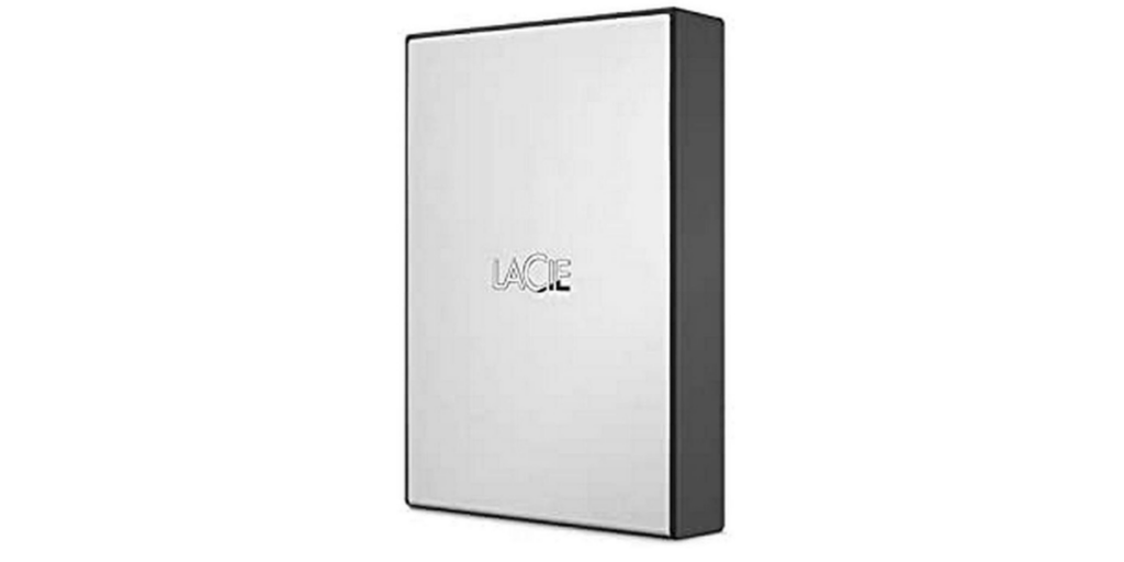 LaCie 4TB External HDD for Windows and Mac