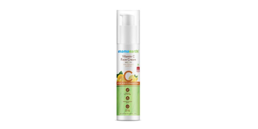 Vitamin C Face Cream Mamaearth