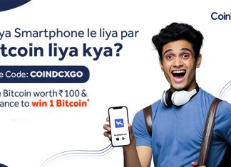 coindcx bitcoin offer cashkaro