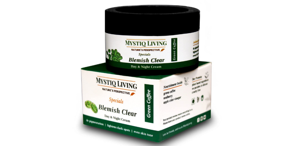 Mystiq Living Green Coffee Cream