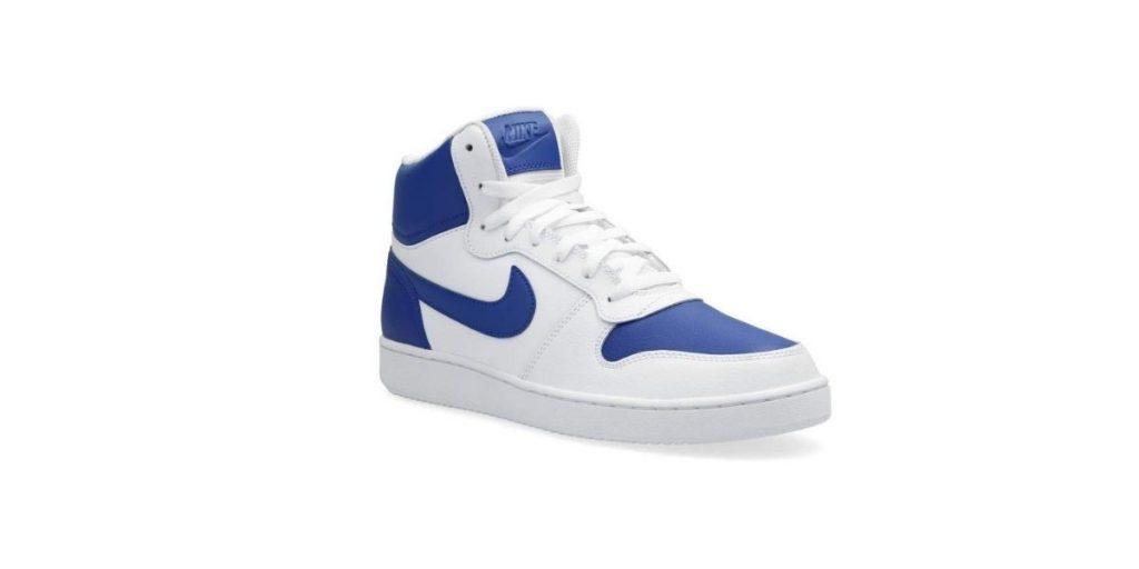 Nike Men's Ebernon Mid Leather Basketball Shoes