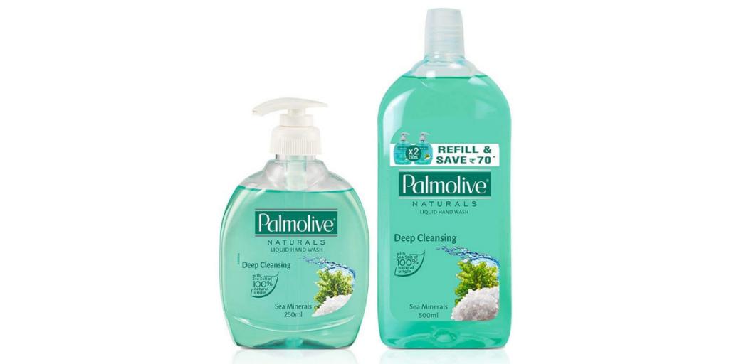 Palmolive Sea Mineral Natural Hand Wash