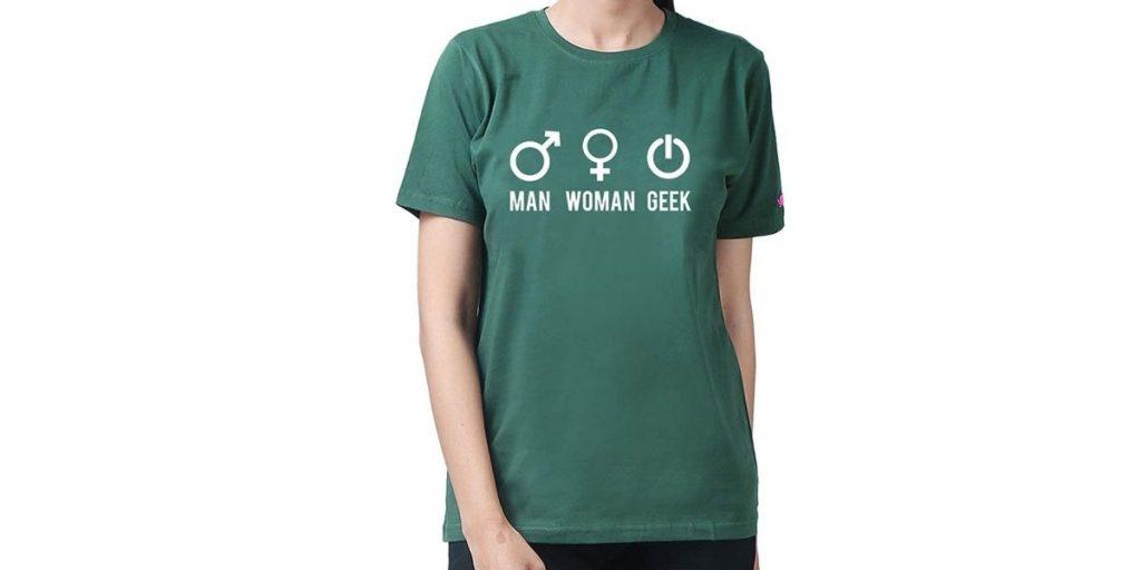 PrintOctopus Geek T-shirt