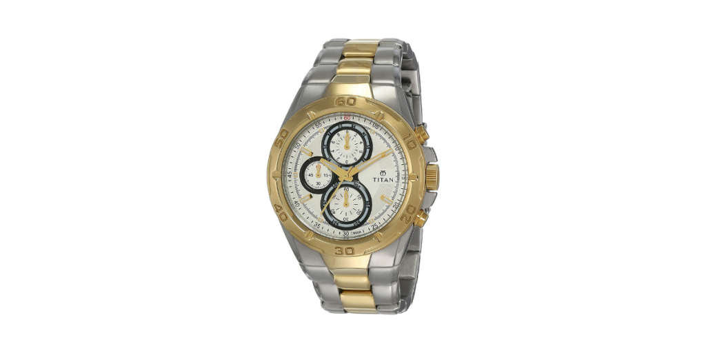 Titan Regalia Chronograph NH9308BM01 Men's Watch