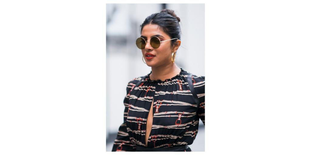 Round Frame Sunglasses - Priyanka Chopra