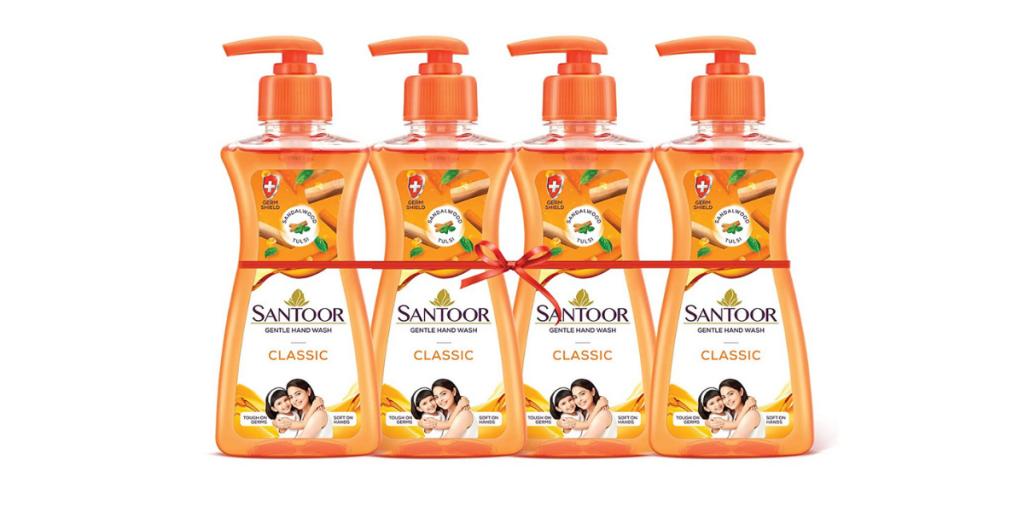 Santoor Fresh Gentle Hand Wash