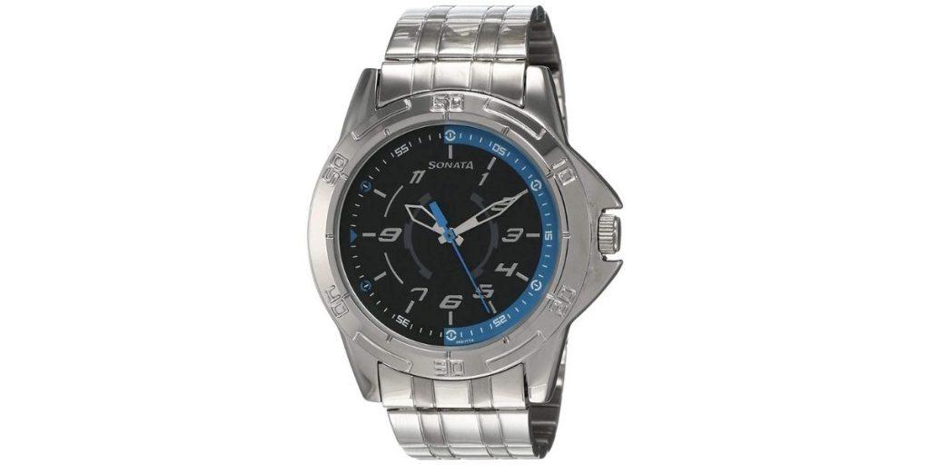 Sonata NM77001SM01 Men's Watch