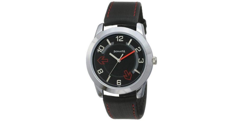 Sonata NM7924SL04 Men's Watch