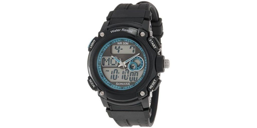 Sonata NM7989PP01 Men's Watch
