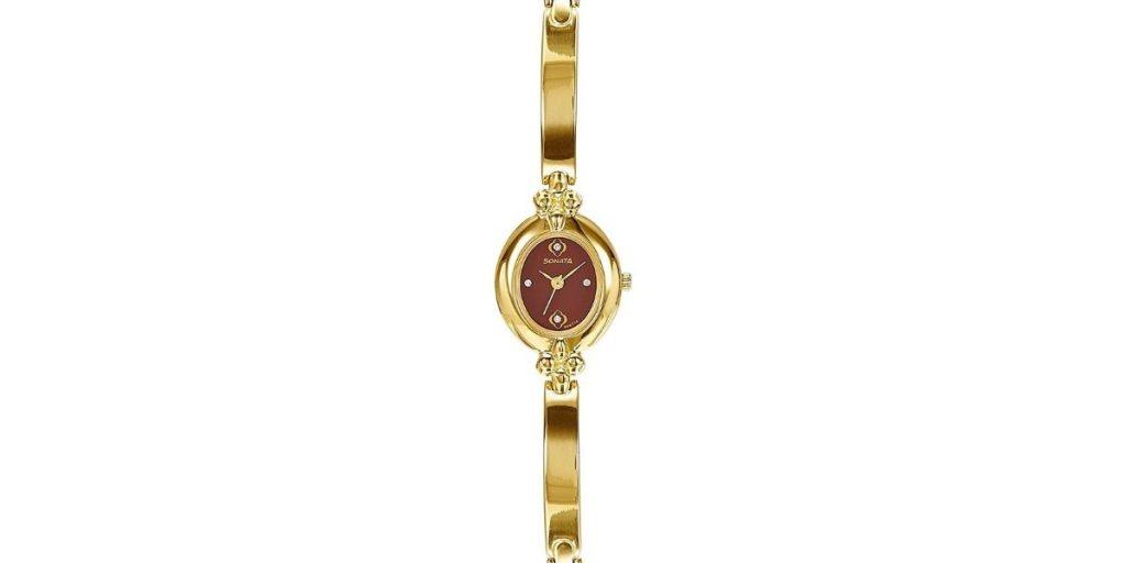 Sonata NM8093YM02 Women's Watch