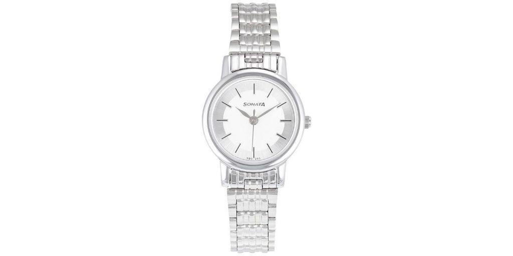 Sonata NM8976SM01W Women's Watch