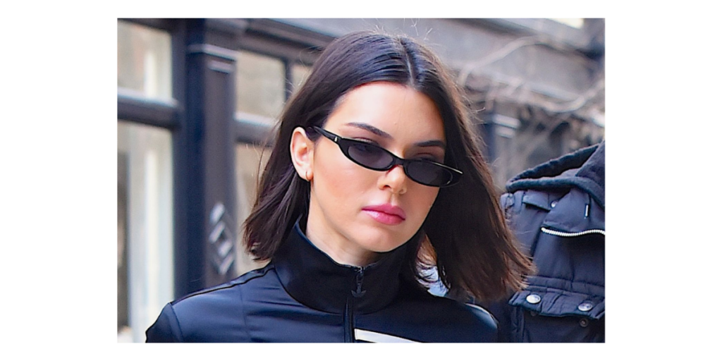 Tiny Frame Sunglass - Kendall Jenner