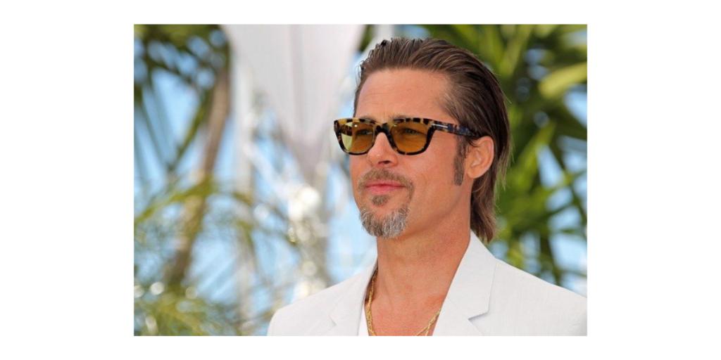 Tortoiseshell Sunglass - Brad Pitt