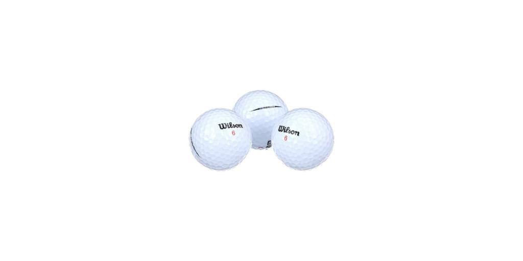 best Wilson golf balls