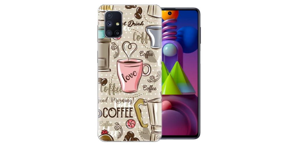 Fashionury Mobile Cover for Samsung Galaxy M51