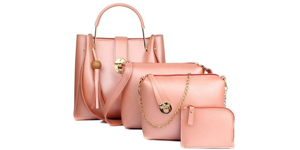 Women Handbag Set