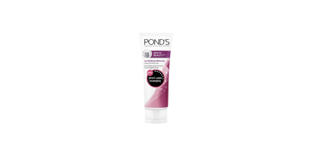 best Ponds face scrub for oily skin