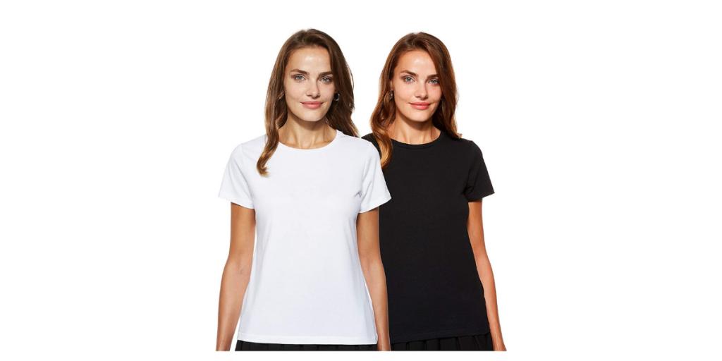 White & Black T-Shirt